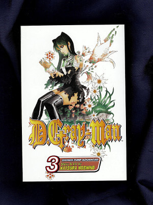 D.Gray-Man Manga: Vol. 03, The Black Order Annihilation Incident