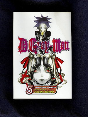 D.Gray-Man Manga: Vol. 05, Vampire of the Castle