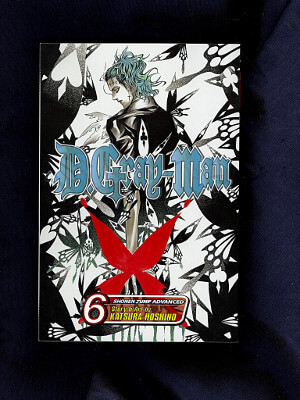 D.Gray-Man Manga: Vol. 06, Point of the Attack