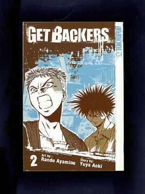 Get Backers Manga: Vol. 02, The Case of the Lucky Cat