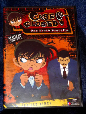 Case Closed DVD: Case 04, Like Old Times