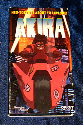 AKIRA VHS Tape: The Movie (Dubbed)