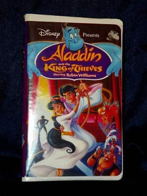 Disney VHS Tape: Aladdin and the King of Thieves