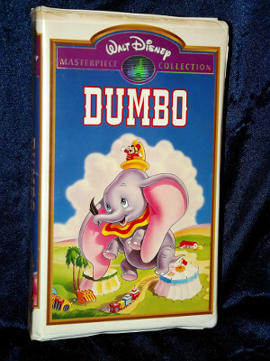 Disney VHS Tape: Dumbo