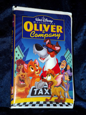 Disney VHS Tape: Oliver and Company