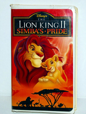 Disney VHS Tape: The Lion King II: Simba's Pride