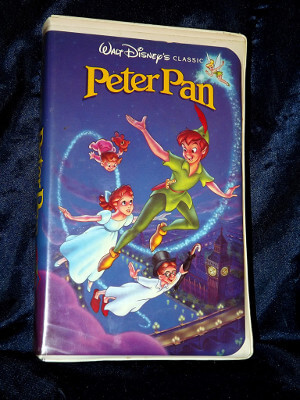 Disney VHS Tape: Walt Disney's Black Diamond Classic Peter Pan