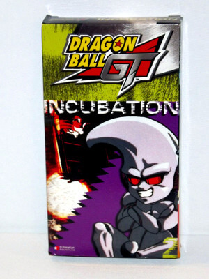 Dragon Ball GT VHS Tape: Incubation (Dubbed Anime)
