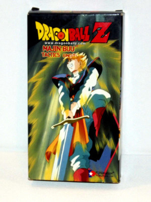 Dragon Ball Z VHS Tape: Episodes 226-228, Majin Buu - Tactics (Uncut) (Dubbed Anime)