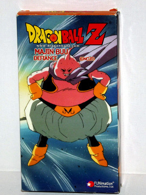 Dragon Ball Z VHS Tape: Episodes 229-231, Majin Buu - Defiance (Uncut) (Dubbed Anime)
