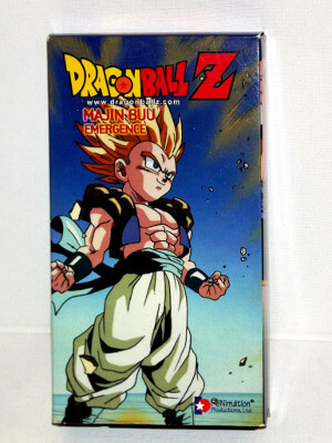 Dragon Ball Z VHS Tape: Episodes 235-238, Majin Buu - Emergence (Dubbed Anime)