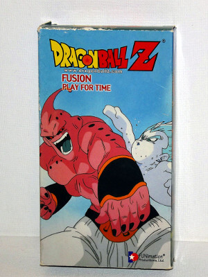 Dragon Ball Z VHS Tape: Episodes 242-244, Fusion - Play for Time (Dubbed Anime)