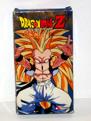Dragon Ball Z VHS Tape: Episodes 245-247, Fusion - Losing Battle (Dubbed Anime)
