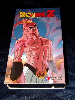 Dragon Ball Z VHS Tape: Episodes 248-250, Fusion - Ambush (Dubbed Anime)