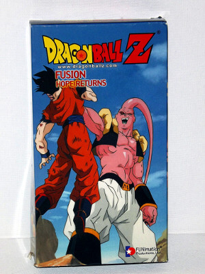 Dragon Ball Z VHS Tape: Episodes 251-253, Fusion - Hope Returns (Dubbed Anime)