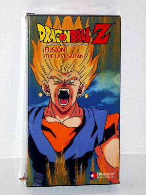 Dragon Ball Z VHS Tape: Episodes 254-257, Fusion - The Last Saiyan (Dubbed Anime)