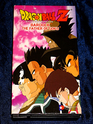 Dragon Ball Z VHS Tape: Movie: Bardock, The Father of Goku (Dubbed Anime)