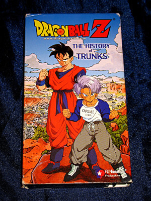 Dragon Ball Z VHS Tape: Movie: The History of Trunks (Dubbed Anime)
