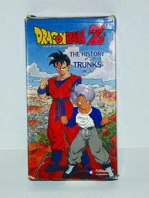 Dragon Ball Z VHS Tape: Movie: The History of Trunks (Uncut) (Dubbed Anime)