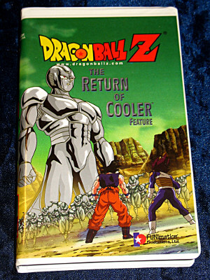 Dragon Ball Z VHS Tape: The Return of Cooler (Dubbed)