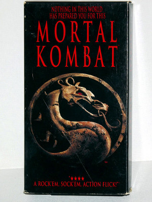 Mortal Kombat VHS Tape: The Movie
