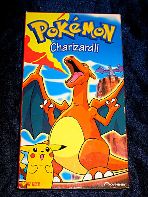 Pokemon VHS Tape: Charizard!! (Dubbed)