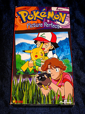 Pokemon VHS Tape: Picture Perfect (Dubbed)