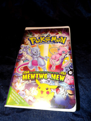 Pokemon VHS Tape: The First Movie