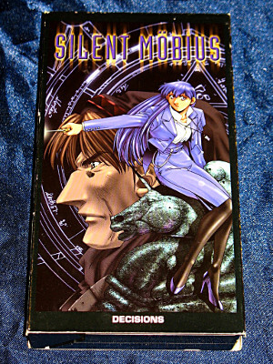 Silent Mobius VHS Tape: Vol. 01, Decisions (Dubbed Anime)