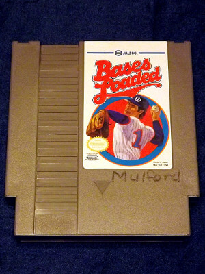 Nintendo Game: Bases Loaded