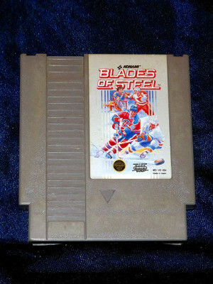 Nintendo Game: Blades of Steel