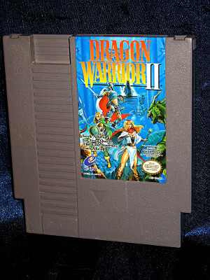 Nintendo Game: Dragon Warrior 2