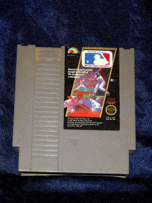 Nintendo Game: Major League Baseball