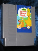 Nintendo Game: Sesame Street Big Bird's Hide & Speak