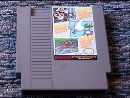 Nintendo Game: Super Mario Bros. / Duck Hunt / World Class Track Meet