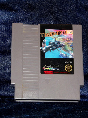 Nintendo Game: Tiger-Heli