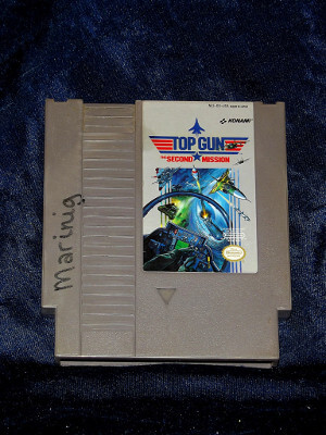 Nintendo Game: Top Gun: The Second Mission