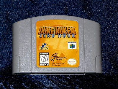 Nintendo 64 Game: Duke Nukem: Zero Hour with Box and Manual