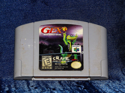 Nintendo 64 Game: Gex 3: Deep Cover Gecko