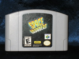Nintendo 64 Game: Space Invaders