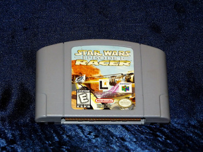 Nintendo 64 Game: Star Wars: Episode I Racer with Box and Manual