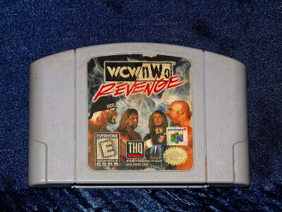 Nintendo 64 Game: WCW-NWO Revenge with Box and Manual