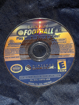 Nintendo GameCube Game: Backyard Football