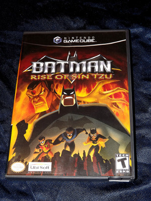 Nintendo GameCube Game: Batman: Rise of Sin Tzu