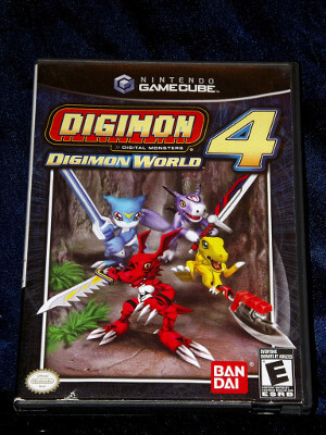 Nintendo GameCube Game: Digimon World 4
