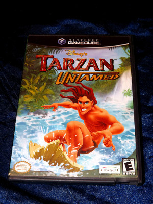 Nintendo GameCube Game: Disney's Tarzan Untamed