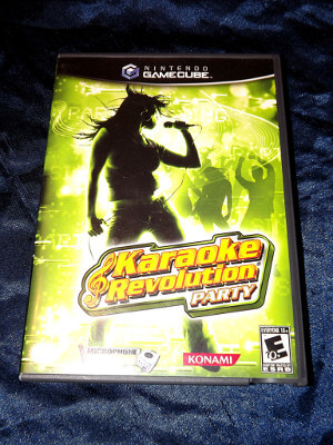 Nintendo GameCube Game: Karaoke Revolution Party