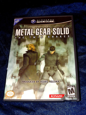 Nintendo GameCube Game: Metal Gear Solid: The Twin Snakes