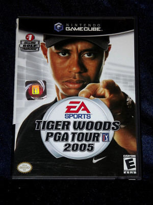 Nintendo GameCube Game: Tiger Woods PGA Tour 2005