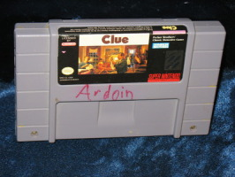 Super Nintendo Game: Clue
